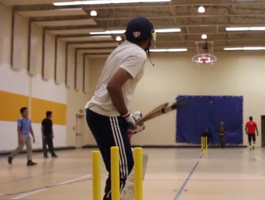 Indoor Cricket Practice