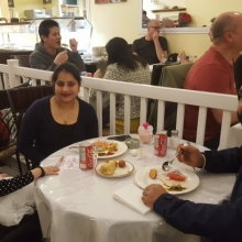 Cavaliers Spring Fundraiser Dinner 2017 at Spices of Punjab Restaurant on Scarth Street in Regina.