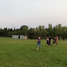 SaskTel Junior Cricket Academy - 2015