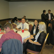 Cavaliers Year-end Awards Dinner 2014, at Ramada Hotel in Regina
