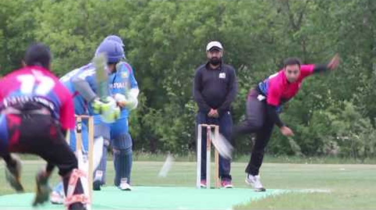 Cavalier Ice - Dhaval Patel bowls Royals Opener