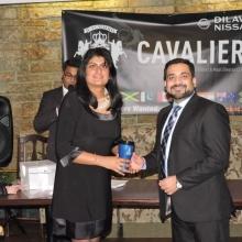 Cavaliers Christmas Party (Awards Dinner) 2015 at Unique Bistro in Regina